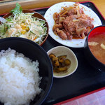 ランチハウス - 焼肉定食(530円)