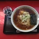 喜輪味 - 喜輪味ラーメン+麺得盛