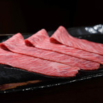 肉料理 それがし - 黒毛和牛ザブトンのしゃぶすき