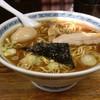 中華そば つけ麺 甲斐 - 料理写真:定番の味玉中華そば(大)