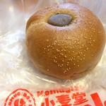 78733017 - 黒糖こしあんベーグル 216円