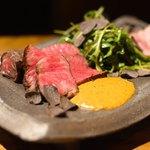 TABLE O TROIS - 近江牛とバウムクーヘン豚3種の盛り合わせ