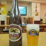 紅莉園 - キリン ラガービール 大瓶 550円