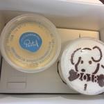 パステル ミュゼ - 料理写真:・なめらかプリン(334円)+迎春プリン(453円)
