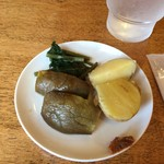 78738978 - おかわりOK野菜