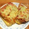 コメダ珈琲店 - 料理写真:...「たっぷりたまごのピザトースト(650円)」、いいね。。