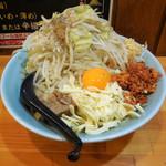 郎郎郎 - ...「さぶろう 油そば/450g(750円)」、野菜・多め!にんにく・普通!脂・普通!