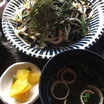 琉球茶房あしびうなぁ - いかすみ麺焼きそば