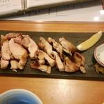 78741228 - 越の鶏の塩焼
