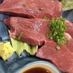 焼肉大将 - ハート刺身