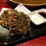 沖縄時間 - もずくの天ぷら