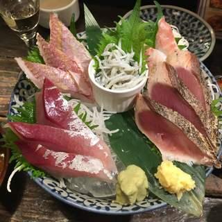 湘南の魚とワインの店 ヒラツカ - さし・もり