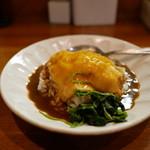 藤原らーめん店・カレー店 - 小チーズカレー