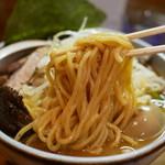 藤原らーめん店・カレー店 - 太麺
