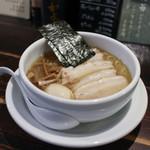 ラーメン専門店 徳川町 如水 - 料理写真:しお 全部乗せ☆