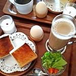 カフェ ヴィオロン - モーニングセット