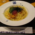 五右衛門 - 料理写真:ウニといくらの醤油オリーブオイル