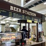 ビア ステーション - 4号スタンド3階フロアにあるよ。