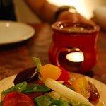 チャコールグリル グリーン - 朝摘み三崎野菜のバーニャカウダ