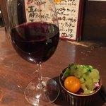 立飲Bistro-SHIN - 北海道ワイナリー・ツヴァイゲルトとお通し