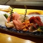 よし寿司 - 刺身盛り合わせ 2,000円/人