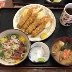 花いち - 料理写真:「ジャンケン大会」1000円(税抜)※ジャンケンに勝つと海老フライが4本から8本になります。