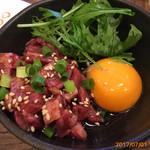 炭焼和牛 七福 - ユッケ