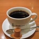 デリフランス - サイフォンカップのコーヒー