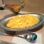 タンドゥール - インドカレーとご飯 750円