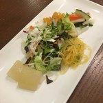 カフェ青 - カレーのサラダ