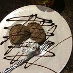 イタリアンダイニング マッシュルームプライム - チョコケーキ