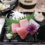 天ぷら いなほ - お造り3種盛