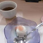 天ぷら いなほ - みかんのシャーベット