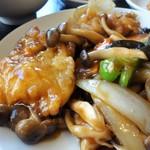 豫園  - 魚のオイスターソース炒め(日替りランチA)
