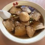 来夢 - 料理写真:来夢名物とろける 喜多方チャーシュー麺