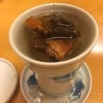 お竈突 - ヒレ酒