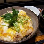 新橋 鶏繁 どんぶり子 - 味噌親子丼