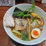 78763984 - 魚介出汁らぁ麺+豚チャーシュートッピング