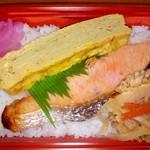 小原惣菜店 - シャケ弁当 430円