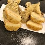 78764599 - 旬の魚と野菜の天ぷら