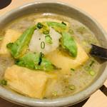 月あかり - 豆腐とアボカドの揚げ出し