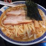桑ばら - 塩煮干そば(850円)
