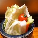 串の坊 - 野菜スティック