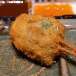 串の坊 - ピーマンの肉詰め
