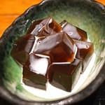 串の坊 - 喜界島の黒糖ゼリー
