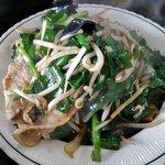 キッチンあべ - ニラ炒め