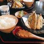 蕎麦酒房 笙 - 料理写真:お昼御前 @1,242円 ここに後からお蕎麦がつきます。