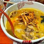 麺処 あす花 - '17.10[限定]カボチャの味噌白湯