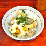 麺処 あす花 - '17.12マヨ玉まかない丼