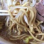 麺屋 小太郎 - 麺アップ